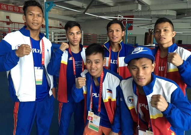 Four Filipino boxers a win away from Olympic berths after reaching semis in China qualifier