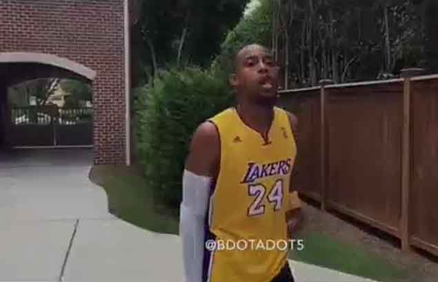 WATCH NBA impressionist Brandon Armstrong does Kobe Bryant this time