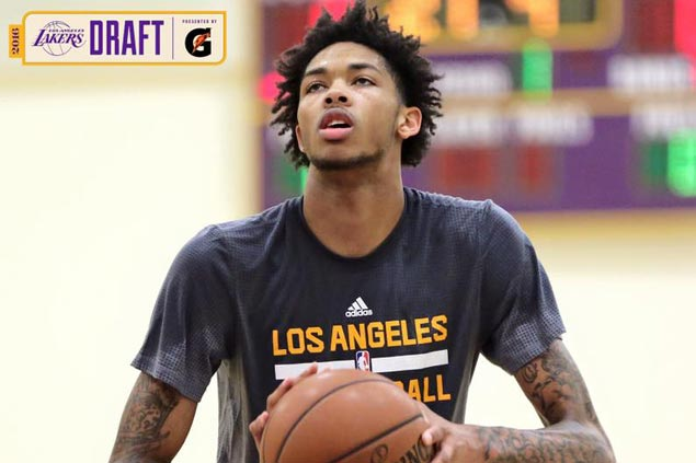 Top prospect Brandon Ingram works out with Lakers, says he's bulking up ahead of NBA draft