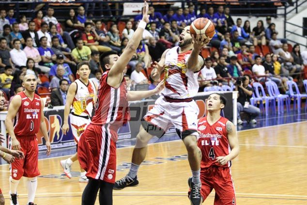 SMB playmaker Brian Heruela all business in game against former team Blackwater