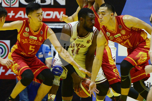 Long break does wonders for Bright Akhuetie with dominant outing against San Sebastian