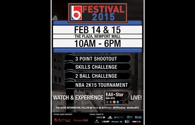 Basketball skills contests spice up NBA All-Star viewing party at Resorts World Manila