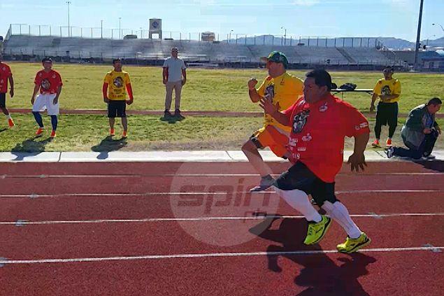 WATCH Buboy Fernandez wins 100m dash for cash race organized by Pacman