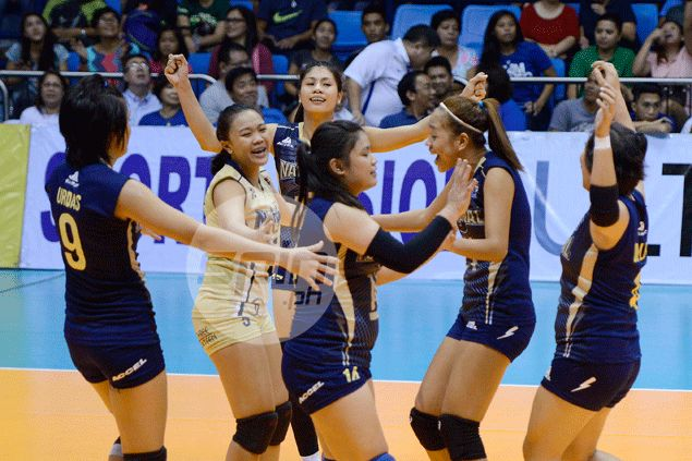 Lady Bulldogs end title reign of Tamaraws to clinch berth in Shakeys V-League finals