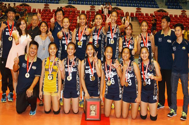 NU bags Shakey's Girls Volleyball League crown after besting tough UST side