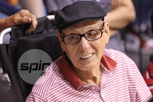 Philippine basketball legend Carlos  'Caloy' Loyzaga passes away