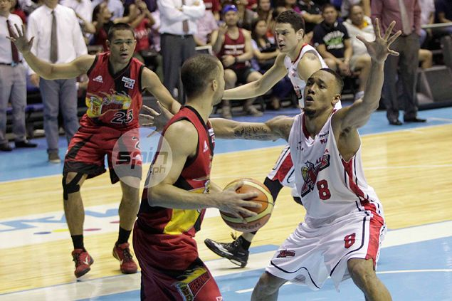 Calvin Abueva admits championship poise the key in Alaska's stunning come-from-behind win
