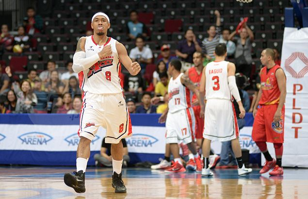 Alaska rides 'Beast' Abueva to complete fiery comeback against Rain or Shine in Game One