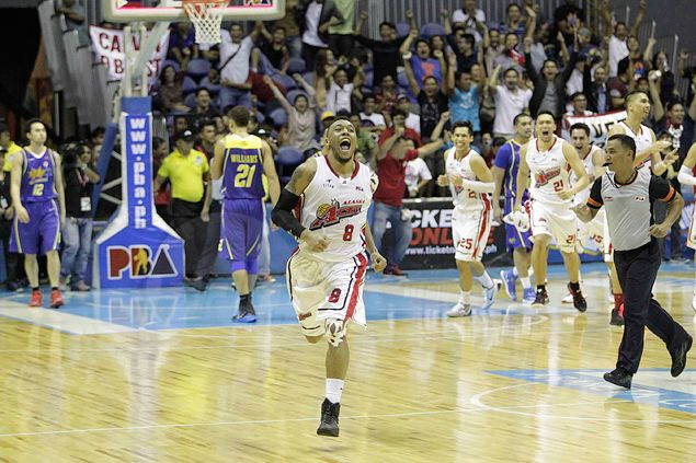 'The Beast' Calvin Abueva caps monster game with Alaska winner at the buzzer against Talk 'N Text