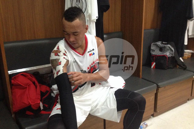 Best Player of Conference Calvin Abueva ends big night in true 'Beast' fashion