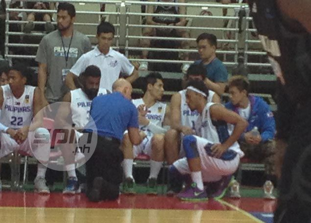 Gilas coach Baldwin explains why he is not ready to loosen the reins on 'Beast' Abueva