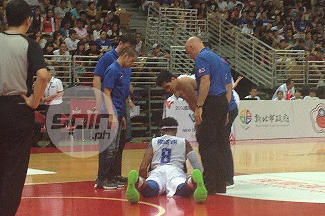 Calvin Abueva gets emotional after Jones Cup debut: 'Ang sarap maglaro para sa bayan'