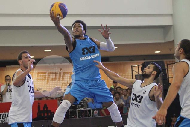 Vic Manuel two free throws save day for Manila North in thrilling 3x3 win over Beirut