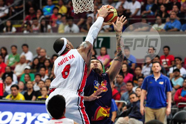Compton on Calvin Abueva: 'He took some shots in the face in Game Five and didn't hit back'