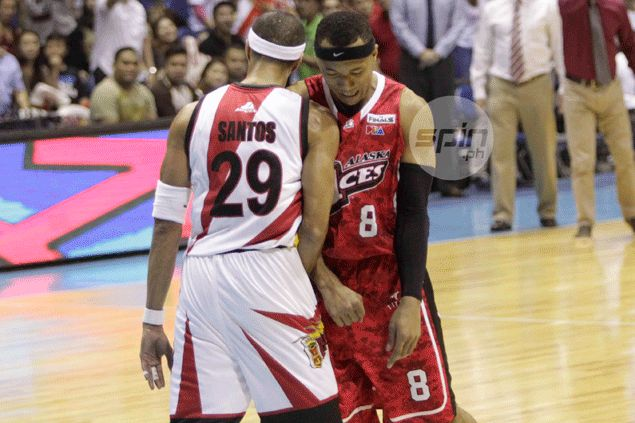 Arwind Santos admits finals rematch with Abueva won't be pretty: 'Pikon lang ang talo'