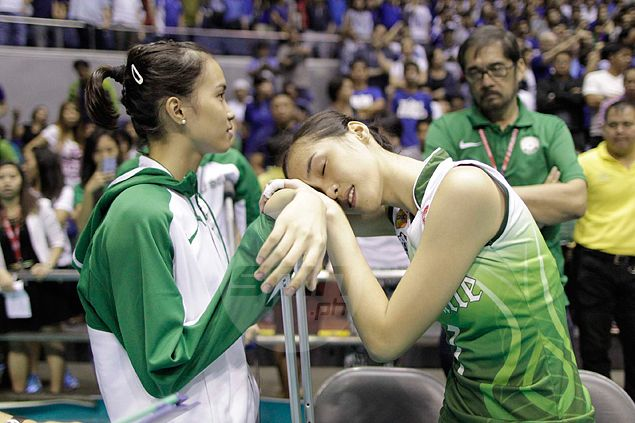 Alyssa Valdez feels sorry for rivals as spate of injuries hits La Salle in UAAP finals