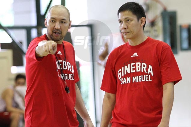 Jeff Cariaso puts in work on 'triangle' as Ginebra begins early preparations for new PBA season