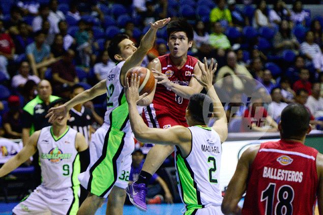 Carlo Lastimosa getting better of Terrence Romeo in matchup goes down the drain as Elite lose anew