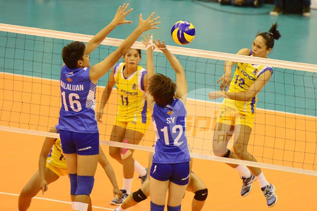 Air Force pulls off come-from-behind win over Pocari Sweat to inch closer to V-League title