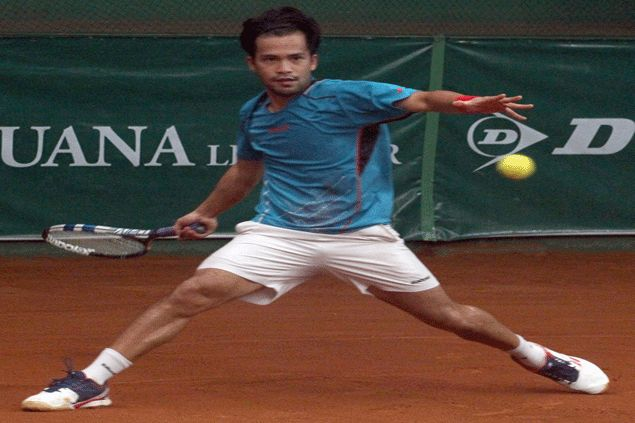 Francis Casey Alcantara punches ticket in ITF meet quarterfinals with big win over Taiwanese foe