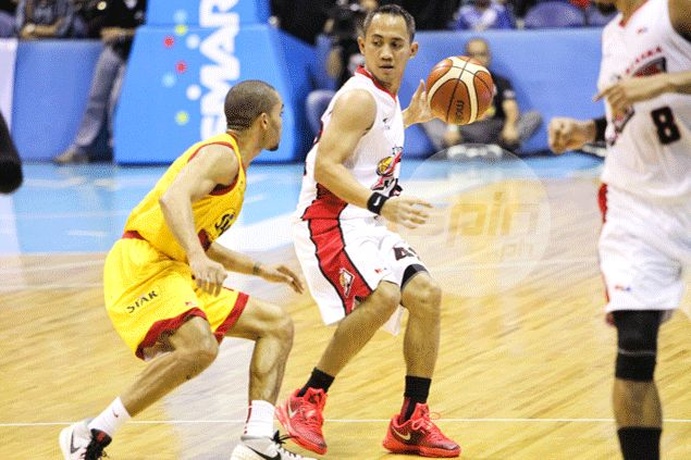 JVee Casio insists he has always been aggressive for Alaska and not just against Star