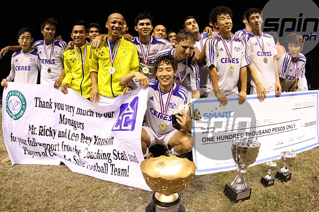 Newly-crowned champ Ceres plans to join UFL