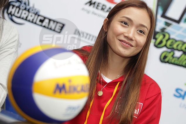 Cha Cruz excited to team up with Micmic Laborte in Superliga beach volleyball