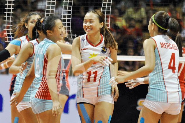 Two losses, nine sets in one afternoon can't wipe away smile from Cha Cruz's face