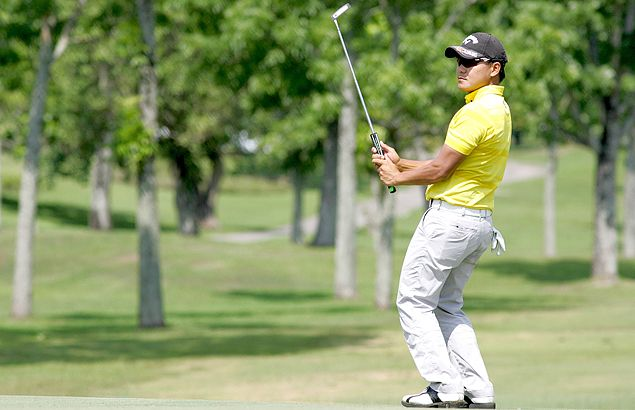 Charles Hong, Albin Engino fire bogey-free 66s to share Luisita lead with two others