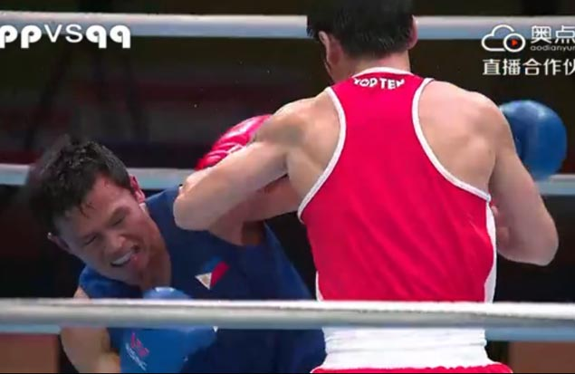 Charly Suarez settles for silver in Olympic qualifying after finals loss to Mongolian boxer