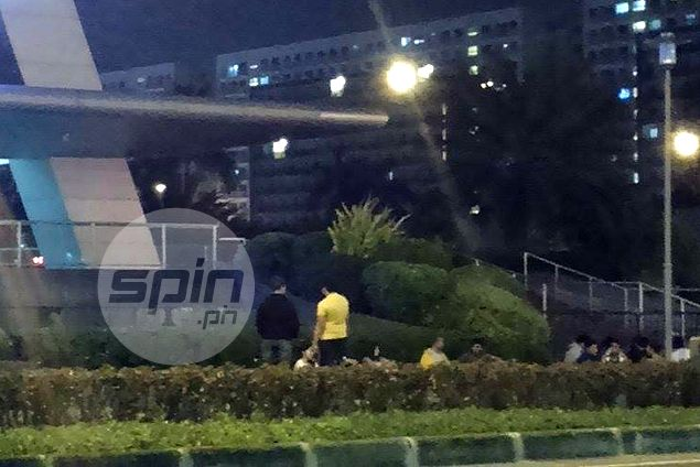 Fans camp out around MOA Arena for UAAP Cheerdance competition tickets