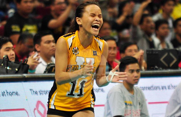Petite Cebuana Cherry Rondina stands out in the face of another letdown for UST Tigresses