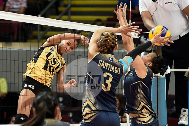 UST Tigresses finally show grit, battle back in fifth set to beat NU Lady Bulldogs