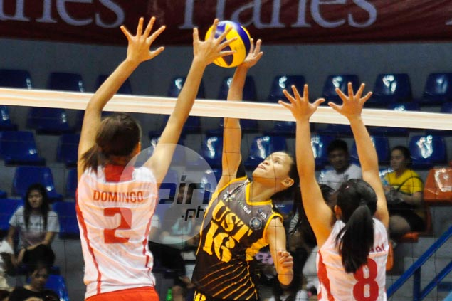 UAAP top scorer Cherry Rondina insists her focus solely on helping UST title chances