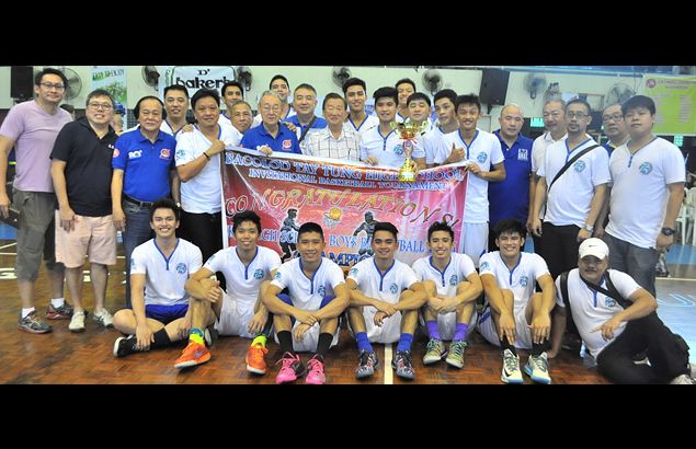 Chiang Kai Shek downs Xavier for Bacolod Tay Tung High School 80th Anniversary basketball title