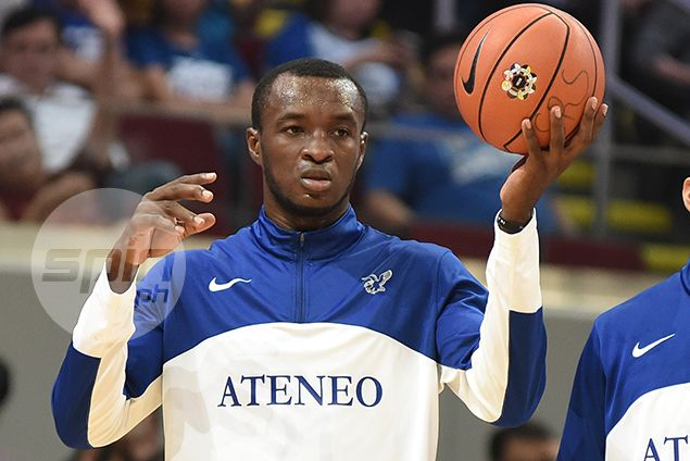 Blue Eagles import Chibueze Ikeh out on bail, set to suit up for Ateneo-La Salle game on Sunday