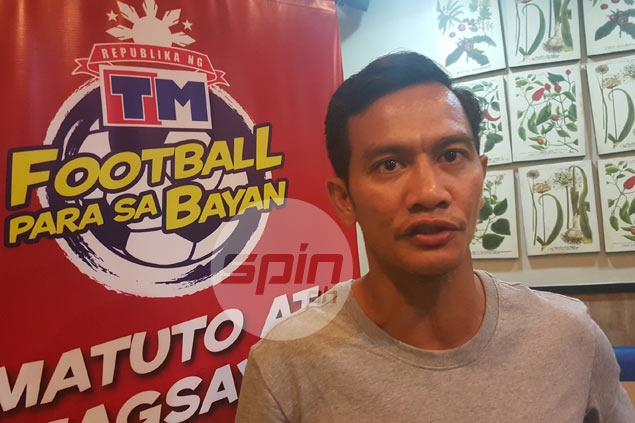 Chieffy Caligdong leads search for future Azkals to complete unfinished SEA Games business