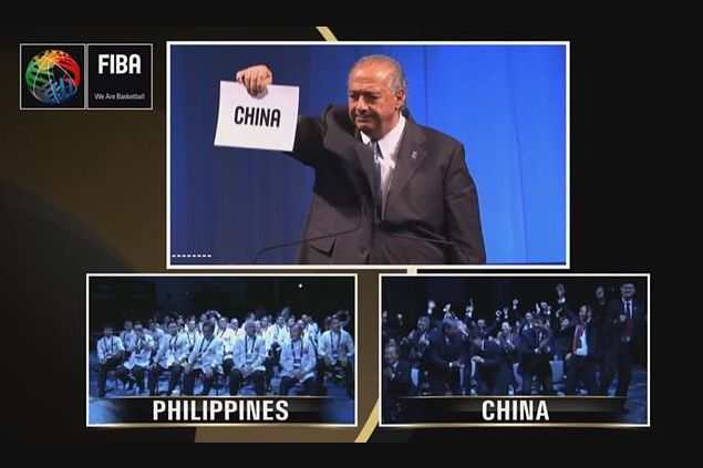 Heartbreak for Philippines as China wins right to host 2019 Fiba World Cup