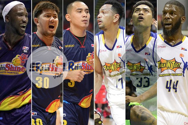 From match-ups to bench depth to coaches, this Rain or Shine-Talk 'N Text finale is too close to call