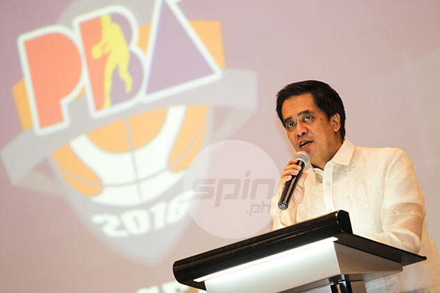 Chito Narvasa now holds dual role as PBA commissioner and CEO
