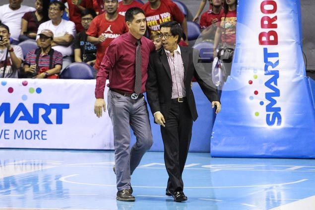 PBA commissioner Narvasa says he was out to pacify - not confront - Dondon Hontiveros