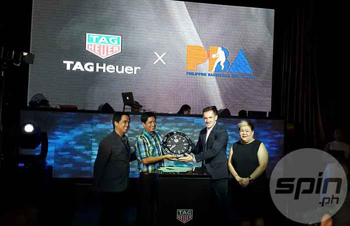 PBA finds new friend as Tag Heuer signs partnership to be new timekeeper of pro league