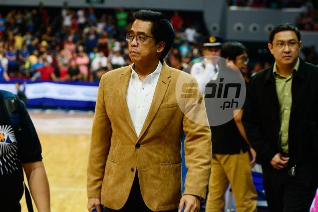 Despite Cone misgivings, Narvasa says he's sticking with single knockout games in PBA playoffs