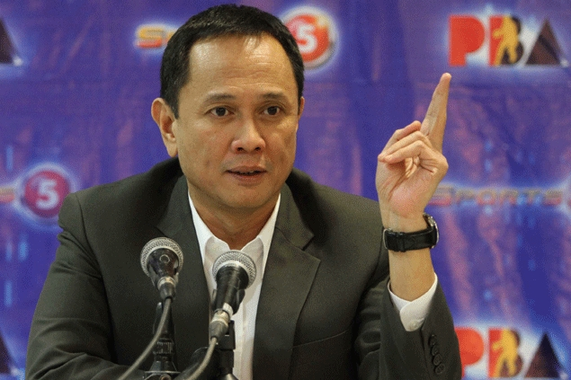 Chito Salud holding on to TV5's commitment to show all PBA games live by next season