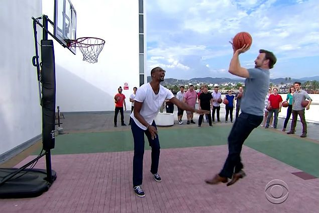 Fit-again Chris Bosh back to dominant self after taking on entire 'Late Late Show' staff