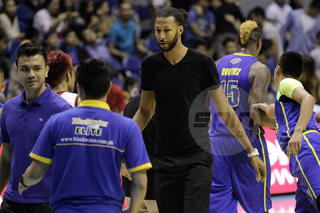 Injured Blackwater import Chris Charles praises stand-in Douthit for 'unbelievable job'