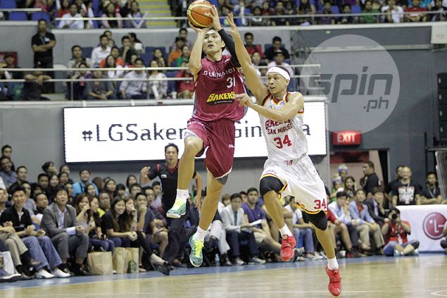 Deadly-shooting LG Sakers down Barangay Ginebra Kings in exhibition duel