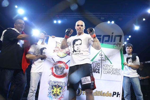 Celebrity fights help raise Philippine MMA profile, admits champ Hoffman: 'Just don't do it everytime'