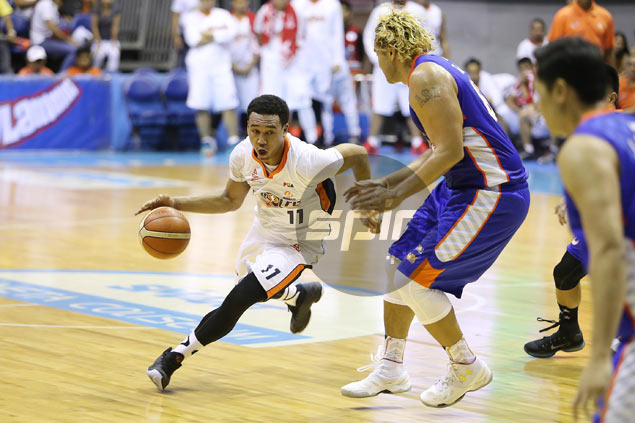 Meralco rookie Chris Newsome out to make up for lost time, savors first ever PBA semis stint