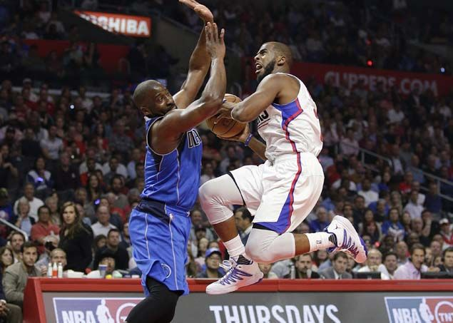 LA Clippers big man DeAndre Jordan victorious in first match against Dallas Mavericks